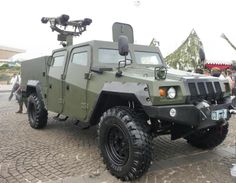 Indonesian Military. Light Armored Vehicle. Made in Indonesia.