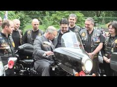 The Prince of Wales hosts a reception for The Royal British Legion Riders Branch