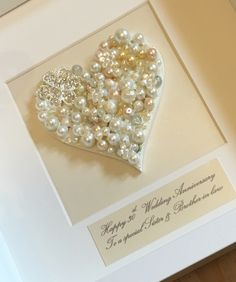 Pearl Wedding Anniversary Gift Ideas For Parents : + ideas about Pearl Wedding Anniversary Gifts on Pinterest Wedding ...