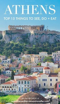 Athens is one of the most famous capital cities in Europe thanks to its blockbuster ancient history and is becoming increasingly popular as a city break destination. And rightly so (I love it! But what else is there to see except the Acropolis? Backpacking Europe, Europe Travel Tips, European Travel, Places To Travel, Travel Destinations, Places To Go, Greece Destinations, Budget Travel, Travel Guides
