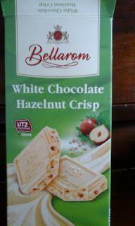 Cosmetics & Life: Am gustat și: Ciocolată albă cu alune Bellarom Chocolate Hazelnut, White Chocolate, Crisp, Ale, Bread, Food, Meal, Brot, Eten