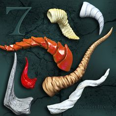 [link] Seven Demon Horns is a pair, of seven horns. each horn (left and right) is a separate prop. Seven Demon Horns Promo Creative Costumes, Diy Costumes, Cosplay Costumes, Halloween Costumes, Dance Costumes, Cosplay Horns, Cosplay Diy, Satyr Costume, Dragon Makeup