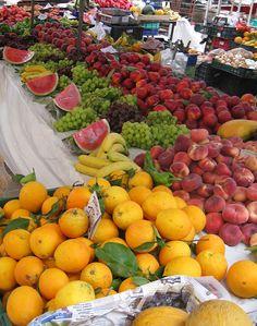 Street market in Mallorca