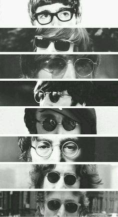 John Lennon's glasses evolution ♡♡