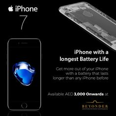 If that is not reason enough to buy the iPhone 7...   Here's another reason - The Price  Get if for AED 3,000 at http://beyonder.co/apple