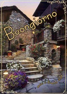 Buongiornissimo 8886 Italian Greetings, Italian Memes, Happy Day, Good Morning, Christmas Tree, Vespa, Stickers, Coffee Cards, Good Morning Wishes