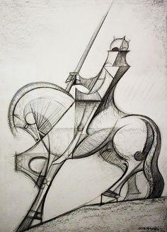 Sagrada Familia Horse Detail