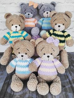 Free amigurumi teddy bear crochet plush pattern #amigurumipattern #amigurumi #crochettoy #crochetpattern #crochetbear #amigurumibear #amigurumitoy #freeamigurumipatterns Crochet Teddy Bear Pattern, Crochet Amigurumi Free Patterns, Crochet Animal Patterns, Plush Pattern, Crochet Blanket Patterns, Free Crochet, Drops Paris, Teddy Bear Clothes, Stuffed Toys Patterns