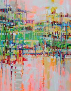 "Saatchi Art Artist Marta Zawadzka; Painting, ""Island - canvas"" #art"