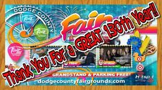 Wisconsin Event:  Thank you attendees, volunteers and exhibitors! 2017 Dodge County Fair   130th Annual
