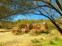 Former Stage Stop .. Located near Box Canyon Florence Az