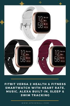 Details: #With a larger display and an always on option, your information's always a quick glance away. #Track heart rate 24/ 7, steps, distance, calories burned, hourly activity, active minutes and floors climbed. #Works around the clock with 6 plus day battery life. #Get call, text, calendar and smartphone app notifications when your phone is nearby. #Plus send quick replies and voice replies on Android only. Price: $149.95 For purchase, Click on img.