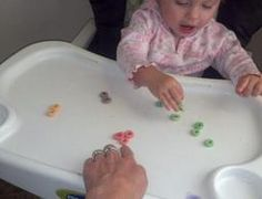 January curriculum lesson plan - teach your infant and tot with Fruit Loops Cereal -practical teaching, fun learning!