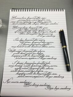 271 Times People Found Some Truly Perfect Handwriting Examples That Were Too Good Not To Share Handwriting Examples, Handwriting Alphabet, Hand Lettering Alphabet, Calligraphy Handwriting, Caligraphy, Cursive Handwriting Practice, English Handwriting Styles, Teaching Cursive Writing, Copperplate Calligraphy