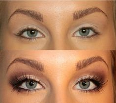 Tutorial for bigger eyes. This woman is a genius!