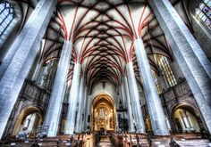 A wonderful cathedral in Germany from #treyratcliff at http://www.StuckInCustoms.com - all images Creative Commons Noncommercial
