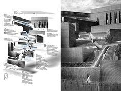 Silver Medal Commendation: The Living Dam / Louis Sullivan, Bartlett School of Architecture