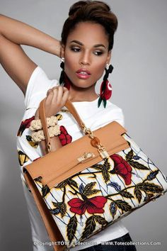 I love this ankara bag