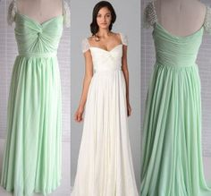 Custom Cap Sleeve Sweetheart Wedding Dress Gown Pearl Sleeve Bridesmaid Dress Prom Party Dress on Etsy, $145.00
