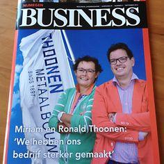 Vormgeving en opmaak van hét zakenmagazine van de regio Nijmegen: Nijmegen Business, in samenwerking met communicatiebureau en uitgever Eberson & Zo
