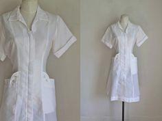 Nurses Uniform Vintage Sewing Pattern 4 75 Angels In