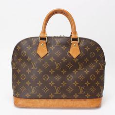 6fc54349e8 Authentic Louis Vuitton Alma Monogram Hand Bag M51130 10114077 #fashion  #clothing #shoes #