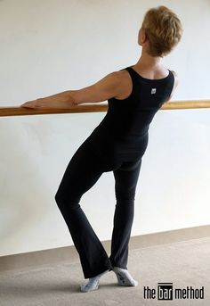 Waterski thigh work sculpts your thighs, hips and glutes creating slimmer hips and flatter outer legs. This exercise lifts and firms your seat muscles, contributing to that Bar Method booty everyone talks about!