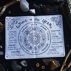 [ Wheel of the Year ] Misspelled 😥 Please forgive me! 😂 The pagan year begins with Samhain on October 31 and ends with the sundown on… Grimoire Book, Magick Book, Wiccan, Witchcraft, Eclectic Witch, Sabbats, Witch Aesthetic, Bullet Journal Inspiration, Book Of Shadows