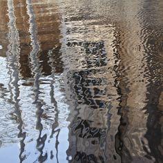 Harbor reflection (Oslo). Åse Margrethe Hansen, 2015