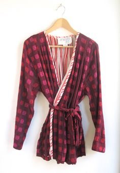 ace&jig fall13 reversible robe in oxblood at Peper Apparel and Parlor Shoes