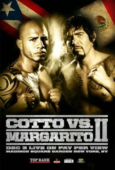 Cotto margarito 2 Miguel Angel Cotto, Miguel Cotto, Puerto Rico, Boxing Posters, World Boxing, Boxing Fight, Boxing Champions, Love Box, Joker And Harley Quinn