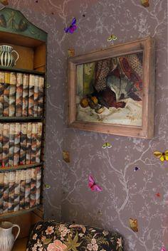 Timorous Beasties Wallcoverings  - Butterflies wallpaper