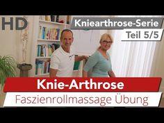 Kniearthrose Übung mit der Faszienrolle // Knieschmerz, Knieübungen, Faszien - YouTube