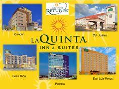 Los puntos que se les da en el programa La Quina Retunrs los puedes cambiar por nochesgratis en todos los hoteles LaQuinta. comonuevocadadia