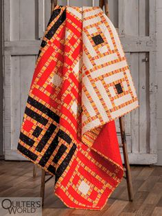 This project is featured in Autumn 2020 Quilter's World magazine. Star Blocks, Beautiful Patterns, Different Fabrics, Quilt Patterns, Cozy, Autumn, Quilts, Magazine, Quilting Patterns