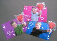 valentine lollipop photo idea