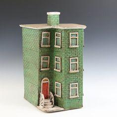Image result for ceramic gingerbread house