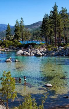 Sand Harbor. Lake Tahoe, Nevada.
