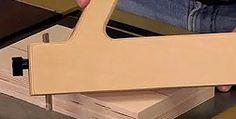 Simple push block with adjustable heel.