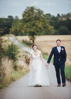 Pale Pink & Lace Farm Wedding http://hbaphotography.com/