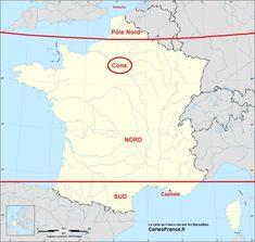 La carte de France vue par les Marseillais
