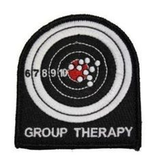 The Tactical US Made Group Therapy Combat Army Morale Velcro Patch $6.20