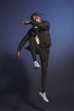 Nike Air VaporMax ''Day to Night'' collection campaign with Travis Scott.