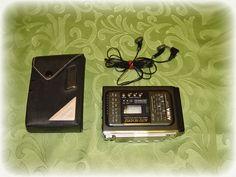 Aiwa HS-J101 - Walkman Stereo Radio Cassette Recorder