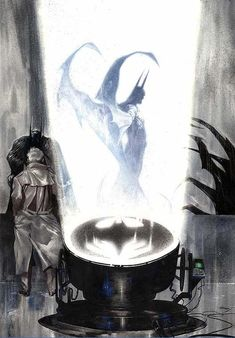 Bat Signal by Gabriele Dell'Otto