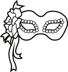 Mardi Gras Mask Printable Coloring Pages For Kids Mardi Gras Mask Template, Masquerade Mask Template, Mardi Gras Masks, Dinosaur Coloring Pages, Coloring Pages For Kids, Coloring Books, Elegant Masquerade Mask, Masquerade Masks, Theme Carnaval