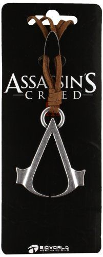 Assassin's Creed - Brown Necklace with Logo by Assassins Creed Merchandise, http://www.amazon.co.uk/dp/B009VBB7Y2/ref=cm_sw_r_pi_dp_bKfJtb05WVA8K