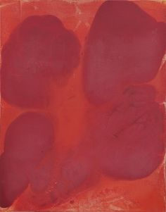 Dirk de Bruycker, Confluence (Small) III, 2001, Asphalt, Gesso, Cobalt Drier and Oil on Canvas, 28 in x 22 in