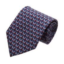 Salvatore Ferragamo Democrat Donkey Print Tie