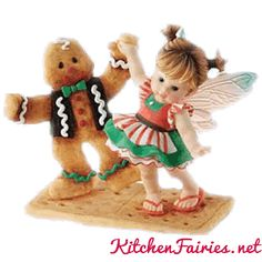 Gingerbread Man Fairie -From Series Thirteen of the My Little Kitchen Fairies collection